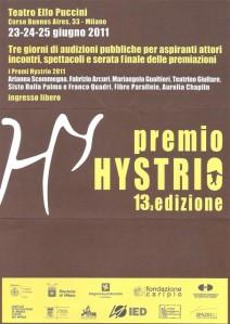 Premio Hystrio 2011